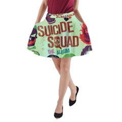 Panic! At The Disco Suicide Squad The Album A Line Pocket Skirt