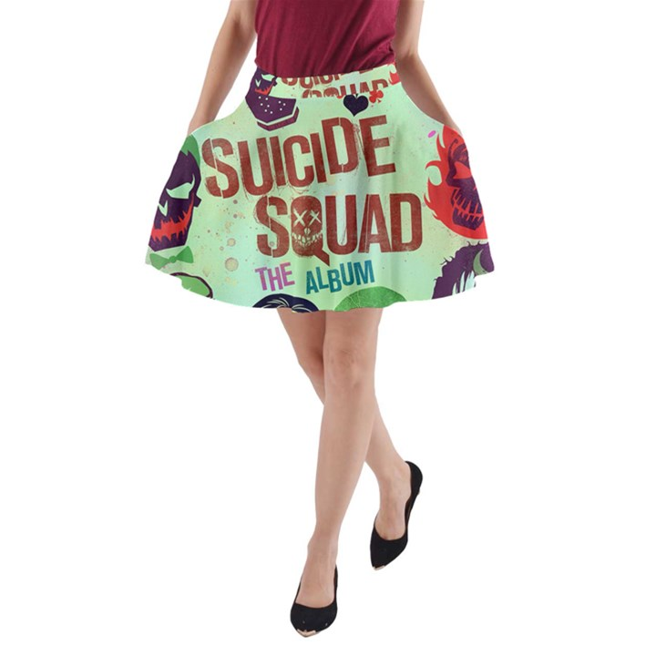 Panic! At The Disco Suicide Squad The Album A-Line Pocket Skirt