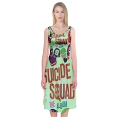 Panic! At The Disco Suicide Squad The Album Midi Sleeveless Dress