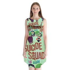 Panic! At The Disco Suicide Squad The Album Sleeveless Chiffon Dress