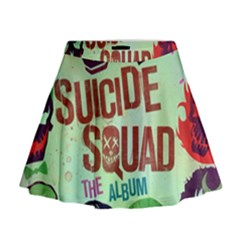 Panic! At The Disco Suicide Squad The Album Mini Flare Skirt
