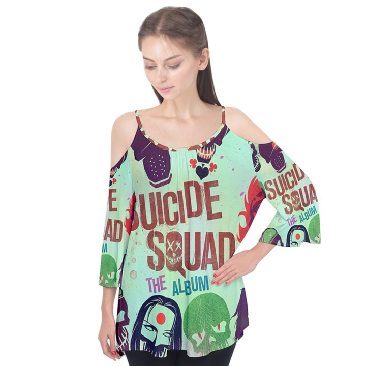 Panic! At The Disco Suicide Squad The Album Flutter Tees