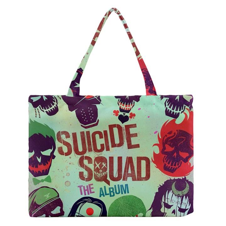 Panic! At The Disco Suicide Squad The Album Medium Zipper Tote Bag