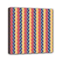 Colorful Chevron Retro Pattern Mini Canvas 6  x 6  View1