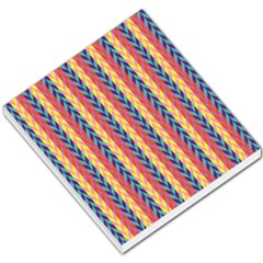 Colorful Chevron Retro Pattern Small Memo Pads