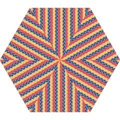 Colorful Chevron Retro Pattern Mini Folding Umbrellas