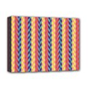 Colorful Chevron Retro Pattern Deluxe Canvas 16  x 12   View1