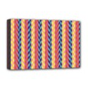 Colorful Chevron Retro Pattern Deluxe Canvas 18  x 12   View1