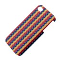 Colorful Chevron Retro Pattern Apple iPhone 4/4S Hardshell Case View4