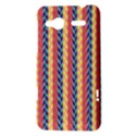 Colorful Chevron Retro Pattern HTC Radar Hardshell Case  View3