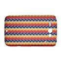 Colorful Chevron Retro Pattern HTC ChaCha / HTC Status Hardshell Case  View1