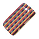 Colorful Chevron Retro Pattern HTC ChaCha / HTC Status Hardshell Case  View4