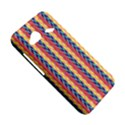Colorful Chevron Retro Pattern HTC Droid Incredible 4G LTE Hardshell Case View5