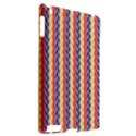 Colorful Chevron Retro Pattern Apple iPad 2 Hardshell Case (Compatible with Smart Cover) View2