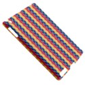 Colorful Chevron Retro Pattern Apple iPad 2 Hardshell Case (Compatible with Smart Cover) View5