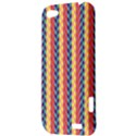 Colorful Chevron Retro Pattern HTC One V Hardshell Case View3