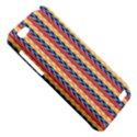 Colorful Chevron Retro Pattern HTC One V Hardshell Case View5