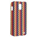 Colorful Chevron Retro Pattern Samsung Galaxy S II Skyrocket Hardshell Case View2