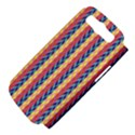 Colorful Chevron Retro Pattern Samsung Galaxy S III Hardshell Case (PC+Silicone) View4