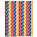 Colorful Chevron Retro Pattern Apple iPad 2 Flip Case View1