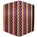 Colorful Chevron Retro Pattern Apple iPad 2 Flip Case View4