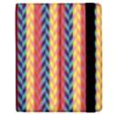 Colorful Chevron Retro Pattern Apple iPad 3/4 Flip Case View2