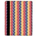 Colorful Chevron Retro Pattern Apple iPad Mini Flip Case View3