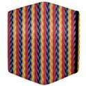 Colorful Chevron Retro Pattern Apple iPad Mini Flip Case View4