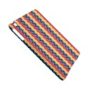 Colorful Chevron Retro Pattern Apple iPad Mini Hardshell Case (Compatible with Smart Cover) View5