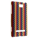 Colorful Chevron Retro Pattern HTC 8S Hardshell Case View2