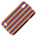 Colorful Chevron Retro Pattern HTC Desire V (T328W) Hardshell Case View4