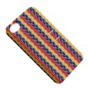 Colorful Chevron Retro Pattern Apple iPhone 4/4S Hardshell Case with Stand View5