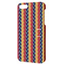 Colorful Chevron Retro Pattern Apple iPhone 5 Hardshell Case with Stand View3