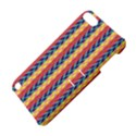 Colorful Chevron Retro Pattern Apple iPod Touch 5 Hardshell Case with Stand View4