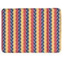 Colorful Chevron Retro Pattern Samsung Galaxy Tab 7  P1000 Flip Case View1