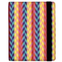 Colorful Chevron Retro Pattern Samsung Galaxy Tab 7  P1000 Flip Case View2