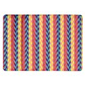 Colorful Chevron Retro Pattern Samsung Galaxy Tab 10.1  P7500 Flip Case View1