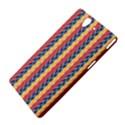Colorful Chevron Retro Pattern Sony Xperia Z View4