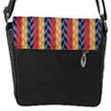 Colorful Chevron Retro Pattern Flap Covers (S)  View2