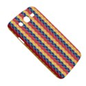 Colorful Chevron Retro Pattern Samsung Galaxy Mega 5.8 I9152 Hardshell Case  View5