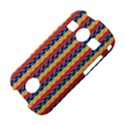 Colorful Chevron Retro Pattern Samsung Galaxy S7710 Xcover 2 Hardshell Case View4