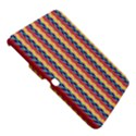 Colorful Chevron Retro Pattern Samsung Galaxy Tab 3 (10.1 ) P5200 Hardshell Case  View5