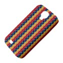Colorful Chevron Retro Pattern Samsung Galaxy S4 Classic Hardshell Case (PC+Silicone) View4