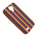 Colorful Chevron Retro Pattern Samsung Galaxy S4 Classic Hardshell Case (PC+Silicone) View5