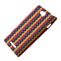 Colorful Chevron Retro Pattern Sony Xperia C (S39H) View4