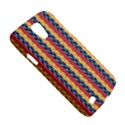 Colorful Chevron Retro Pattern Galaxy S4 Active View5