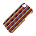 Colorful Chevron Retro Pattern Apple iPhone 5S/ SE Hardshell Case View4