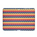 Colorful Chevron Retro Pattern Samsung Galaxy Tab 2 (10.1 ) P5100 Hardshell Case  View1