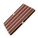 Colorful Chevron Retro Pattern Samsung Galaxy Tab Pro 10.1 Hardshell Case View5