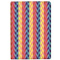 Colorful Chevron Retro Pattern iPad Air Flip View1